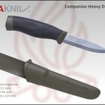 morakniv companion carbon heavy duty olive green