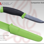 morakniv companion stainless steel green